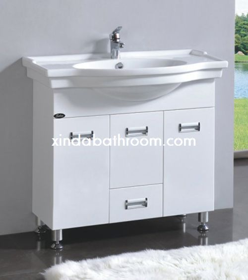 30 white bathroom vanity PC-1603