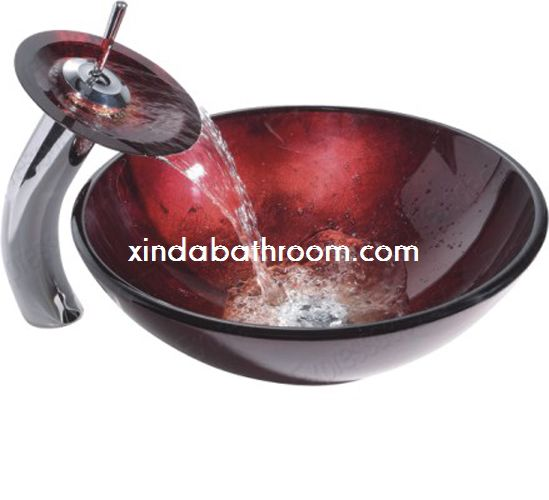 glass vessel sinks 7016