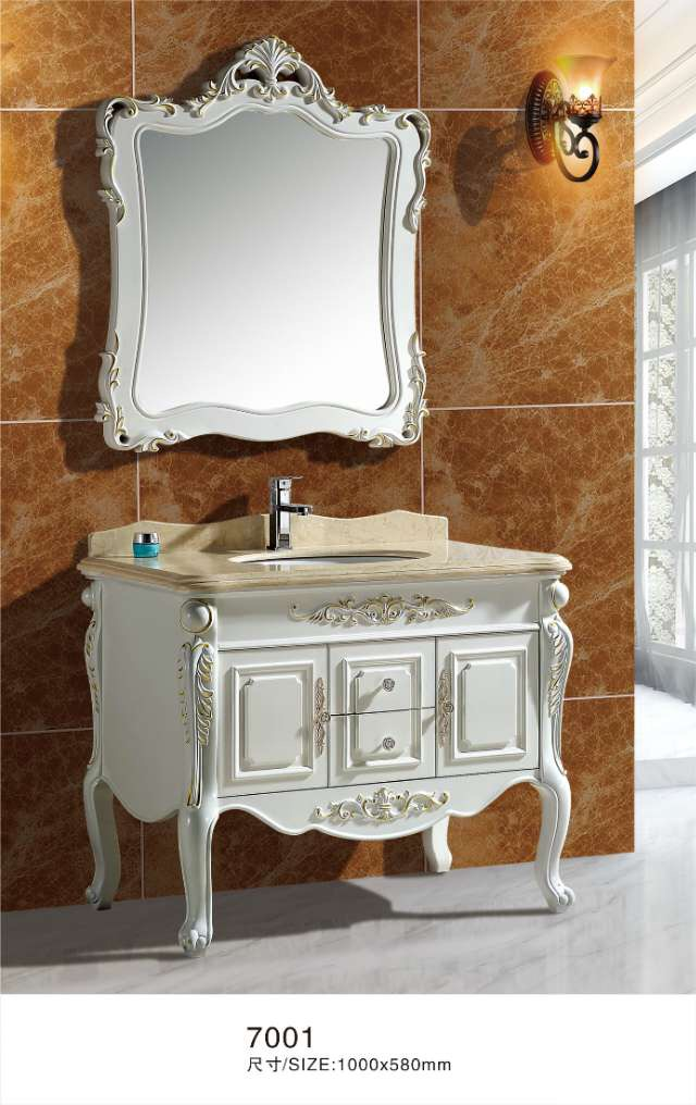 luxury PVC bathroom vanity cabinet