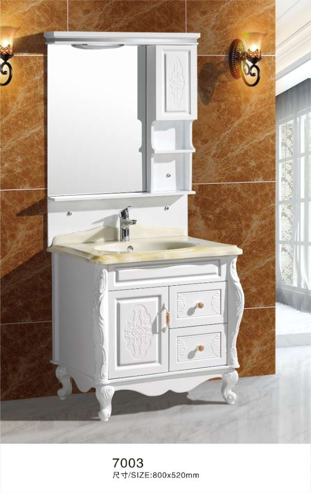 white pvc bathroom cabinet with legs