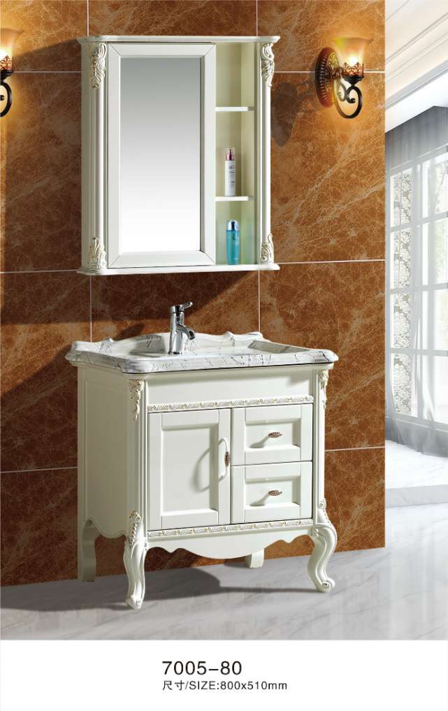 80cm floor stand bathroom cabinets