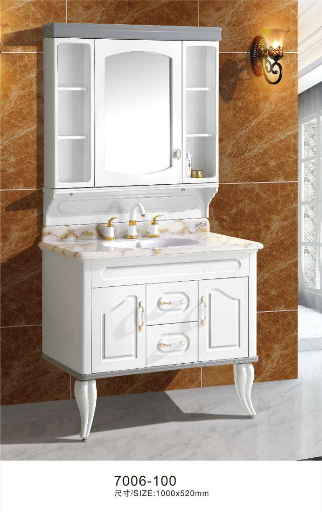 White bath cabinets good quality bathroom cabinet white - Reasonably priced bathroom vanities ...